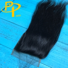 Raw Indian lace closure 4*4